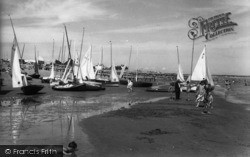 Pevensey Bay, The Sands c.1960