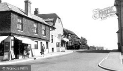 Pevensey Bay, The Village c.1955