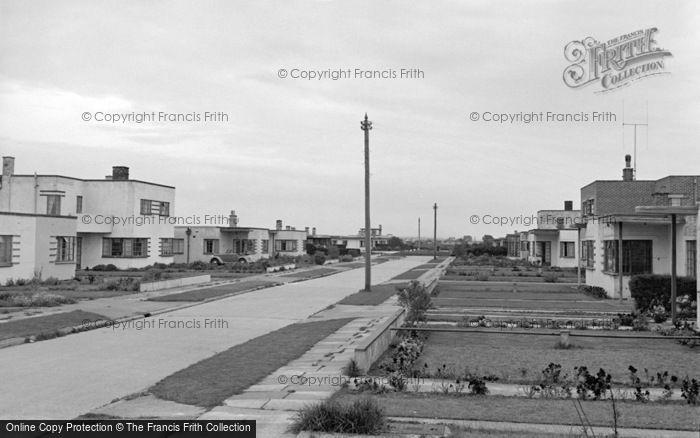 Photo of Pevensey Bay, Westham Drive c.1951