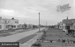 Pevensey Bay, Westham Drive c.1951