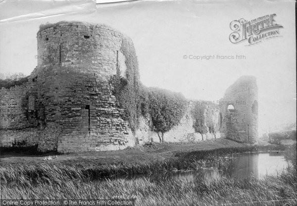 Photo of Pevensey, Castle 1894