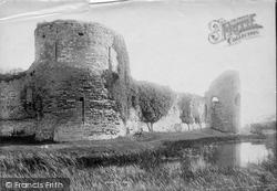 Pevensey, Castle 1894