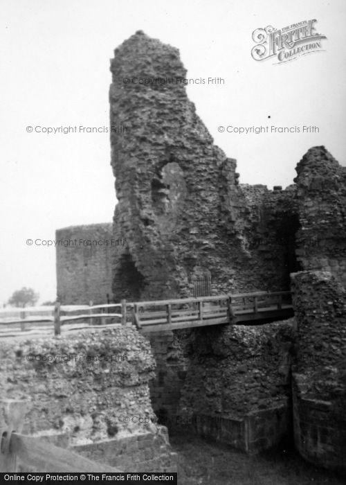Photo of Pevensey, Castle 1952