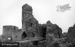 Pevensey, Castle c.1955