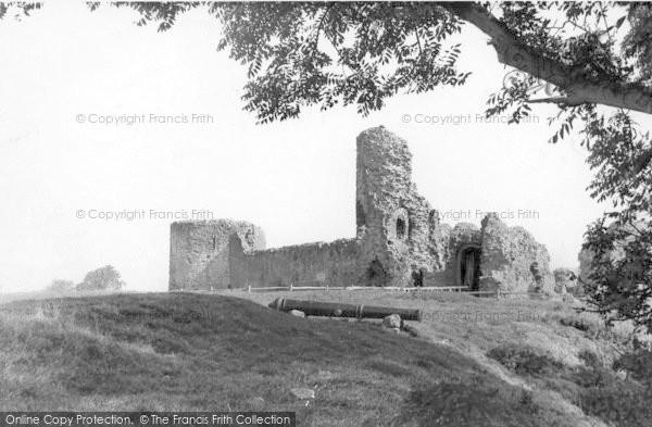 Photo of Pevensey, Castle c.1955