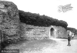 Pevensey, Castle Entrance 1890
