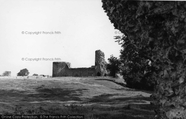 Photo of Pevensey, Castle From West c.1955
