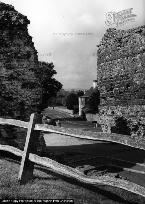 Photo of Pevensey, Castle, The West Gate c.1955