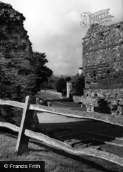 Pevensey, Castle, The West Gate c.1955