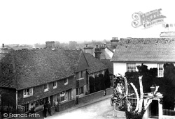 Pevensey, From The Castle 1902