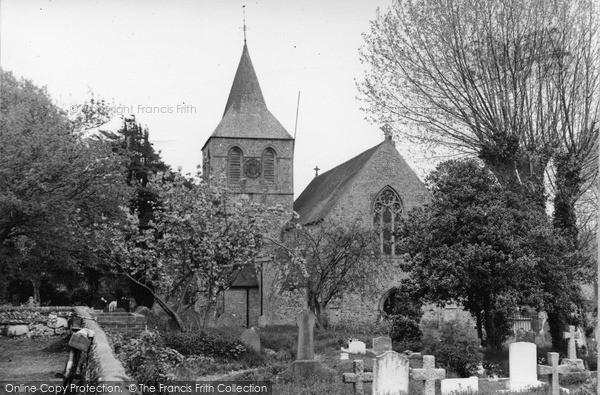 Photo of Pevensey, St Nicholas' Church c.1955