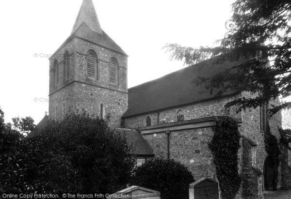 Photo of Pevensey, St Nicolas' Church 1902