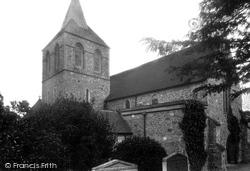 Pevensey, St Nicolas' Church 1902