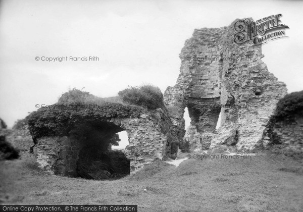 Photo of Pevensey, The Castle 1890