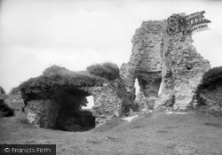 Pevensey, The Castle 1890