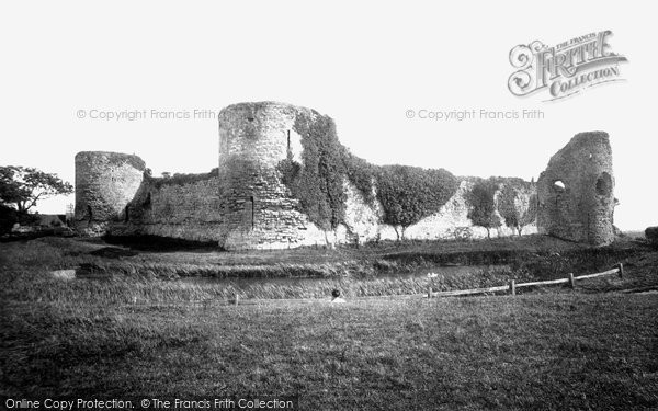 Photo of Pevensey, The Castle 1894