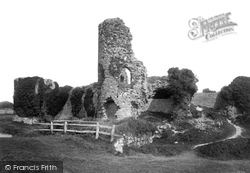 Pevensey, The Castle 1894