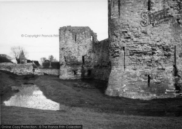 Photo of Pevensey, The Castle c.1950