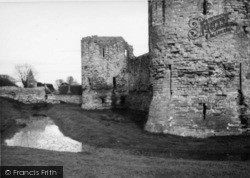 Pevensey, The Castle c.1950