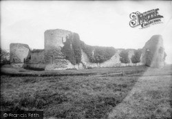 Pevensey, The Castle From North West 1890