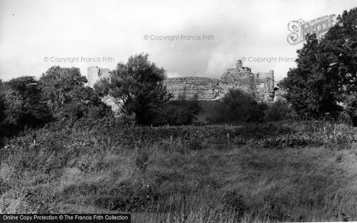 Photo of Pevensey, The Castle From The Playing Fields c.1955