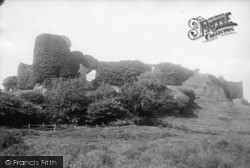 Pevensey, The Castle South Side 1890