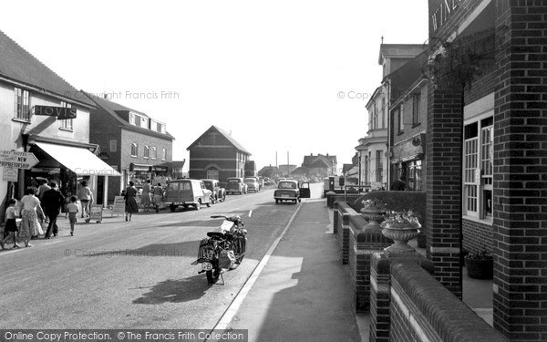 Photo of Pevensey, The Village c.1965