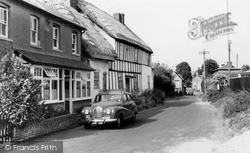 Pewsey, Ball Road c.1960