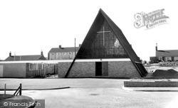 Pewsey, Broadfields Catholic Church c.1965