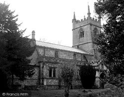 Pewsey, Church Of St John c.1955