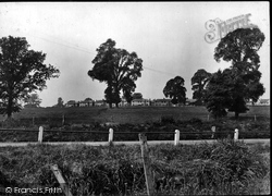 Pewsey, Council Houses And Golf Course 1929