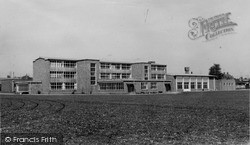 Pewsey, Secondary Modern School c.1960