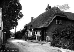 Pewsey, Southcott Road 1929