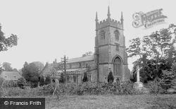 Pewsey, St John's Church And War Memorial 1929