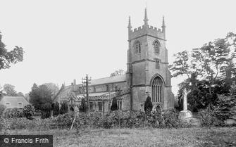 Pewsey, St John's Church and War Memorial 1929