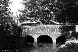 Pewsey, The Bridge, River Street c.1955