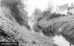 Pewsey, The Canal c.1965