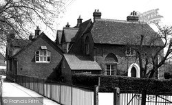 Pewsey, The School c.1955