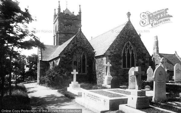 Phillack, the Church 1892