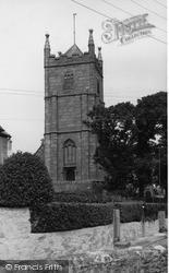 St Felicitas And St Piala Church c.1960, Phillack