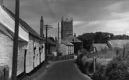 Phillack, the Village c1960