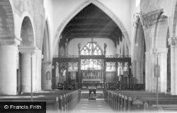 Church Interior c.1955, Pickering
