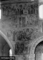 Church, The Murals c.1960, Pickering