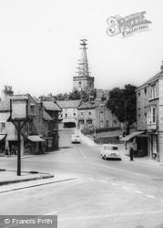 Cross Roads From Eastgate c.1965, Pickering