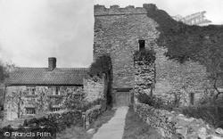 Pickering, Entrance To Castle c.1935