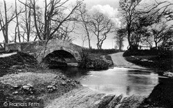 Ings Bridge And Ford c.1935, Pickering