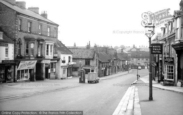 Photo of Pickering, Market Place c1960, ref. P156133