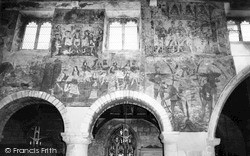 Medieval Wall Paintings In The Church c.1965, Pickering