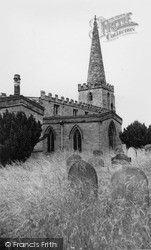 St Peter And St Paul's Church c.1960, Pickering