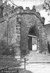 St Peter And St Paul's Parish Church Porch c.1935, Pickering